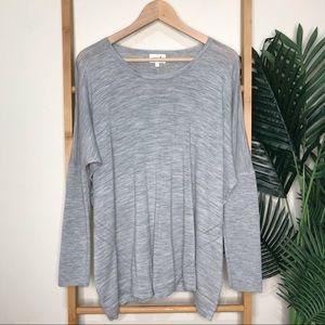 Seed Heritage Grey Merino Wool Knit Jumper M